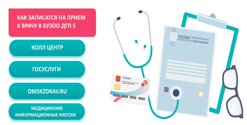 Как записаться к врачу на прием